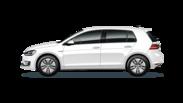 En frilagd VW Golf GTE