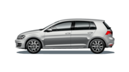 En frilagd VW Golf Highline
