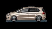 En frilagd Volkswagen Golf Sportsvan