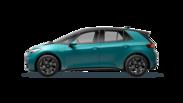 En frilagd VW ID.3 elbil