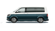 En frilagd VW Multivan Highline
