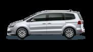 En frilagd VW Sharan