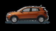 En frilagd Volkswagen T-Cross