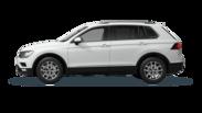 En frilagd VW Tiguan