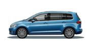 En frilagd VW Touran