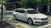 Laddhybriden Skoda Superb
