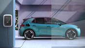 Volkswagen ID.3 laddar med en wallbox