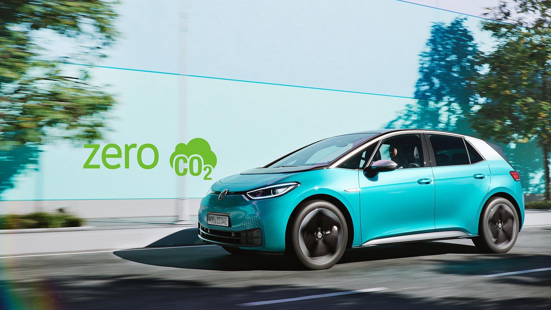 Turkos VW ID3 zero CO2