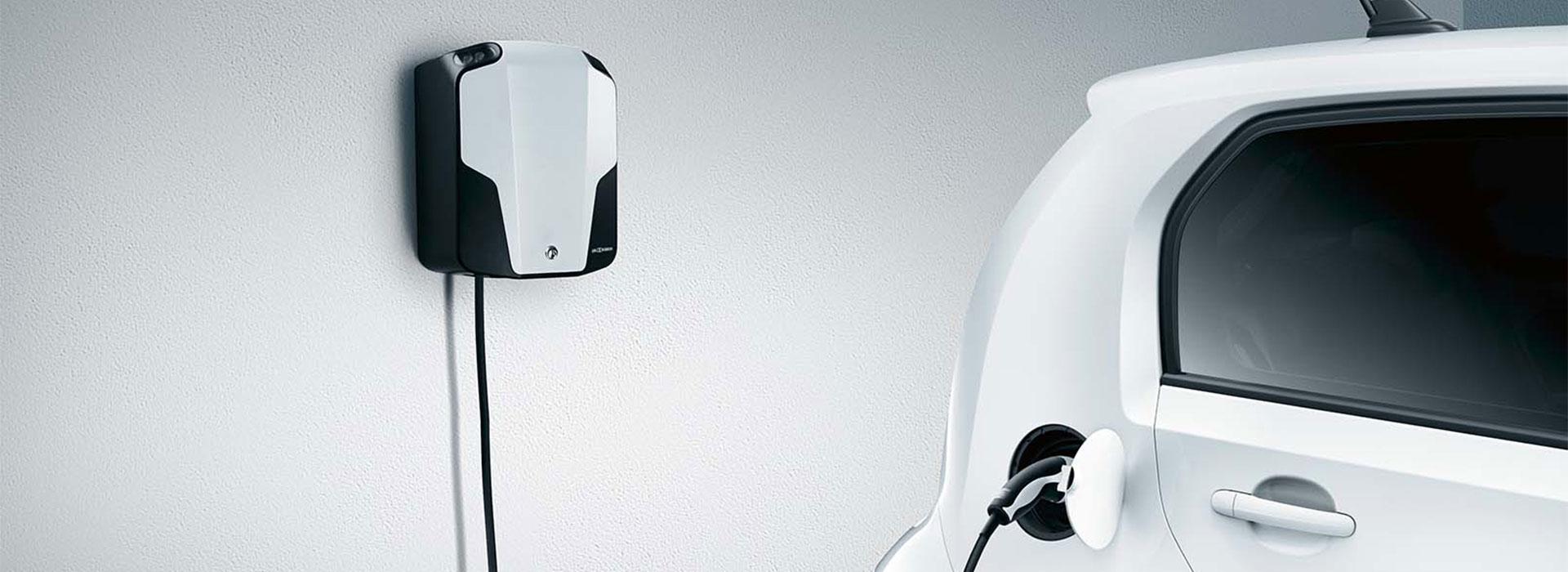 Laddbox till en Volkswagen e-up!