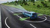 Volkswagen Passat Travel Assist förarassistanssystem