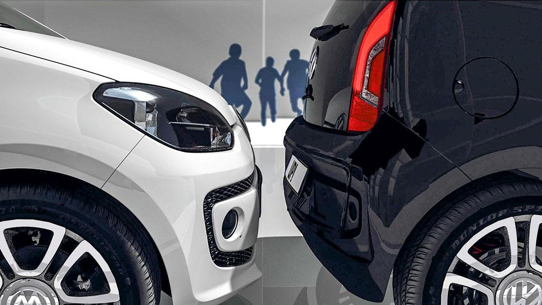 Park Assist, Volkswagen up!