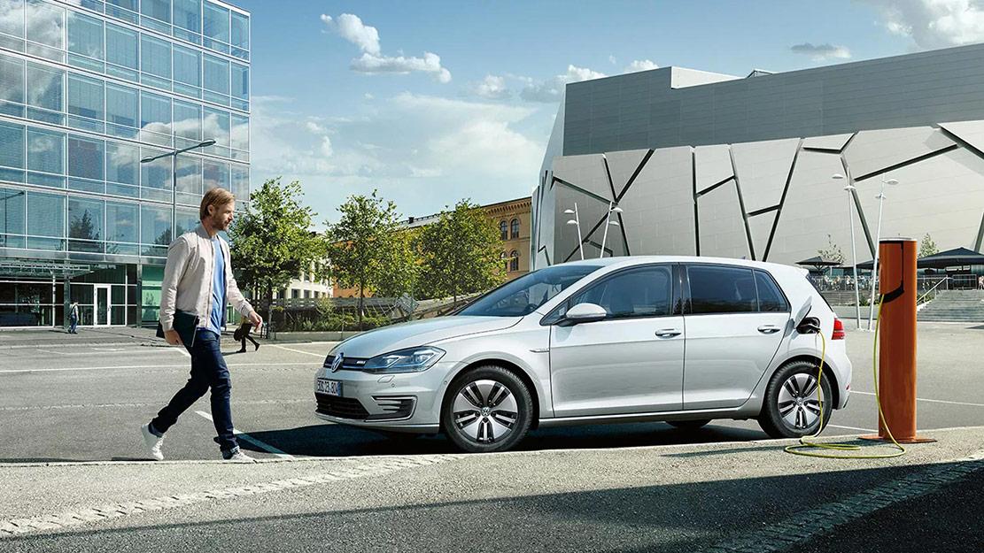Elbilen Volkswagen e-Golf