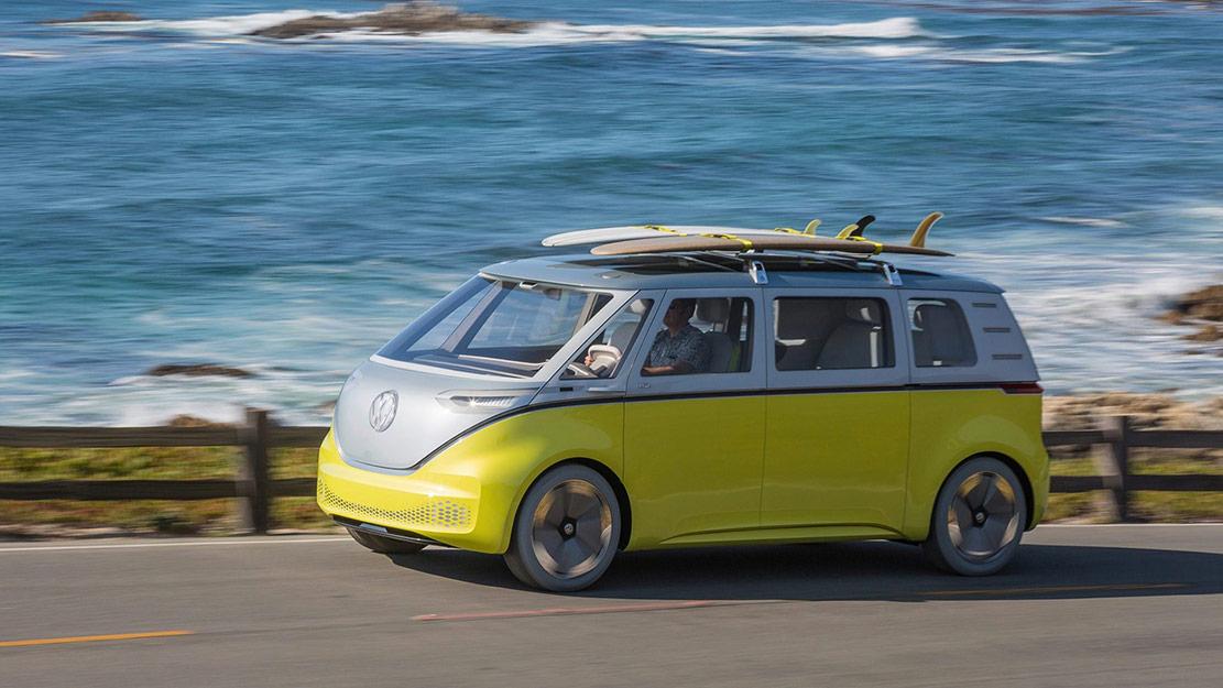 Elbilen Volkswagen ID. Buzz