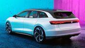 Elbilen Volkswagen ID. Space Vizzion, konceptbil