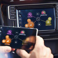 Mirror Link speglar innehållet i din smartphone i bilens infotainmentsystem