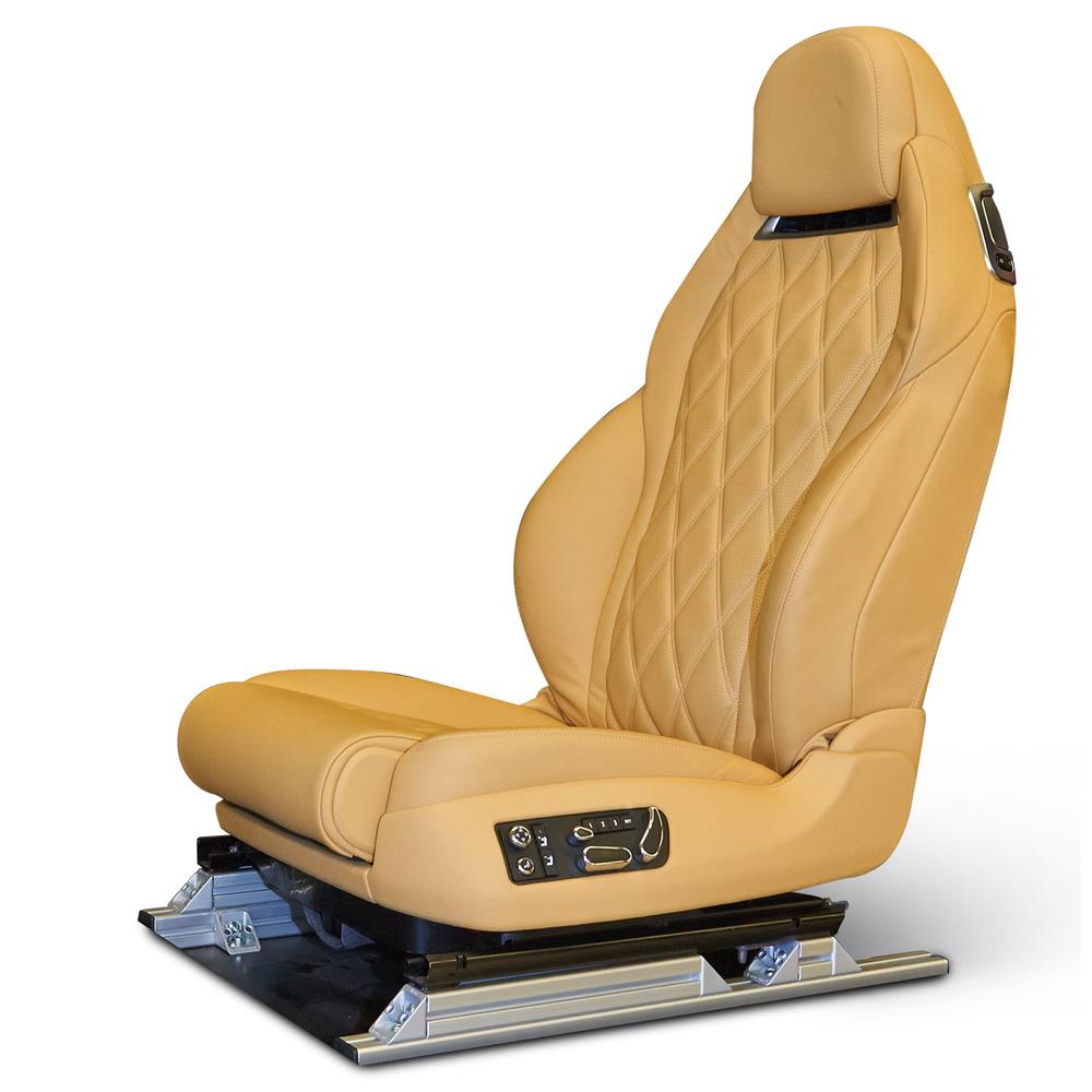 Bentleys smarta förarstol