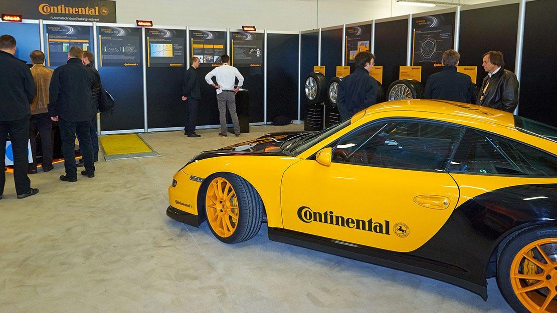 Teknikmässa hos Continental 2013