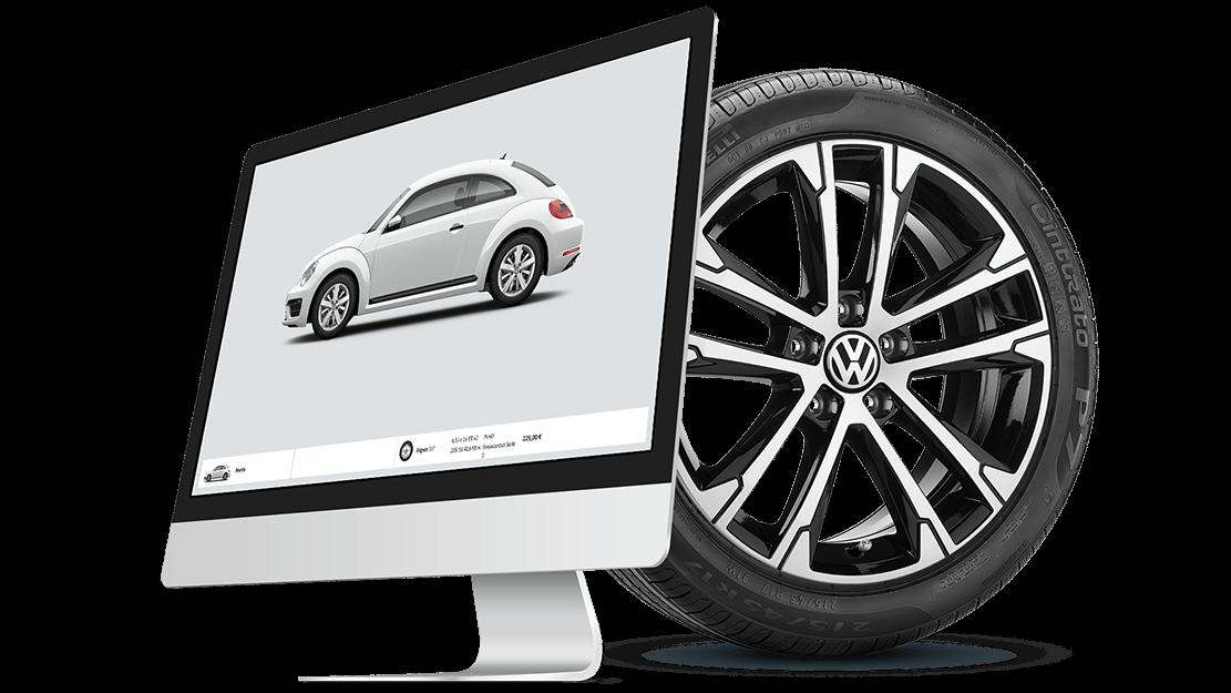 Volkswagen däckkonfigurator