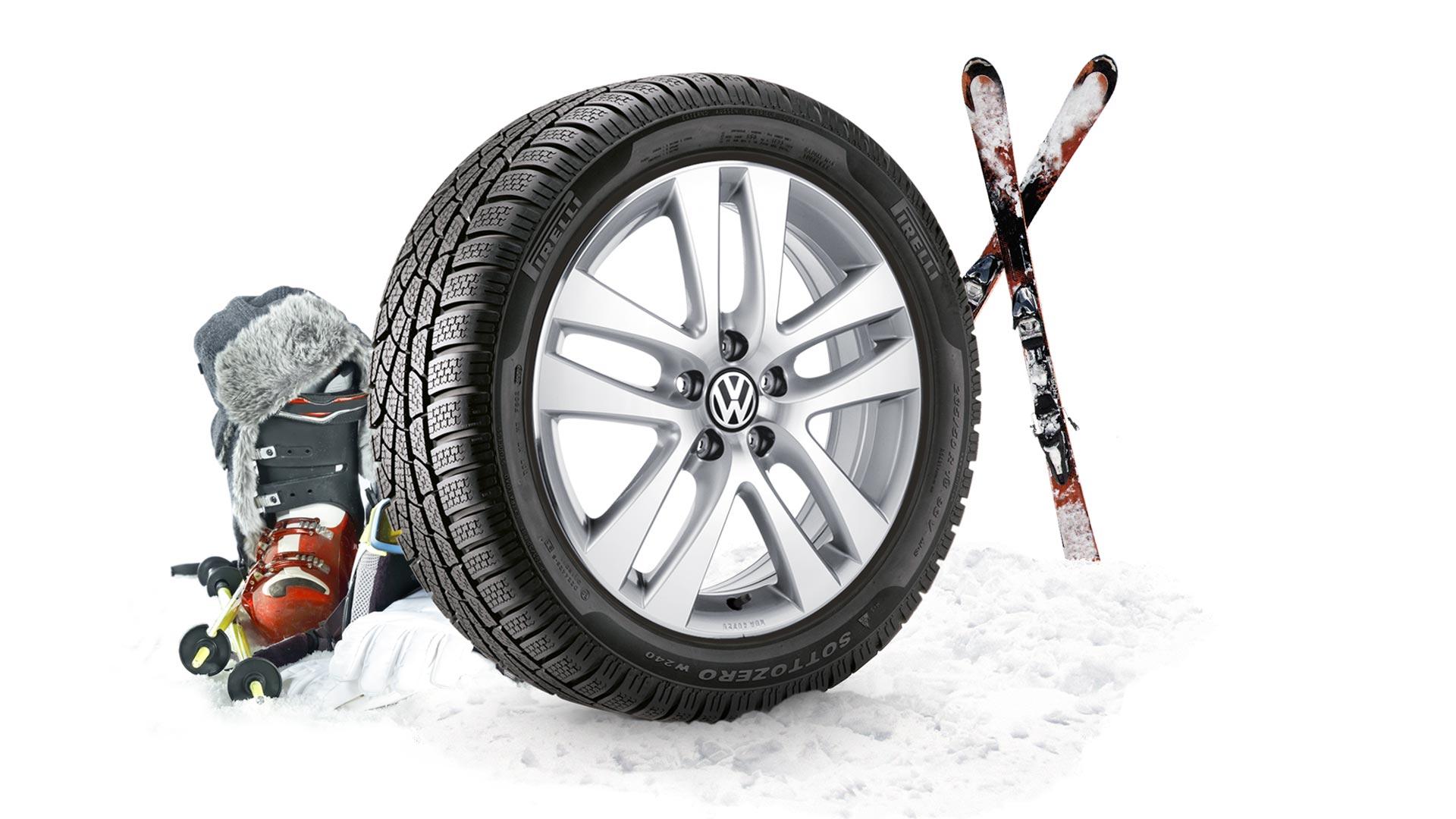 VW vinterdäck