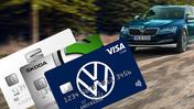 Volkswagengruppens märkeskundkort genom VISA