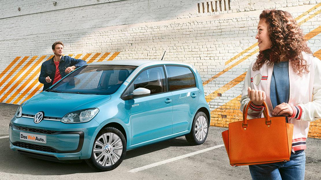 Volkswagen up! Man och kvinna